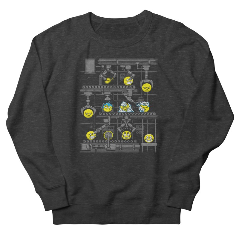 Smiley Factory Men's French Terry Sweatshirt by booster's Artist Shop