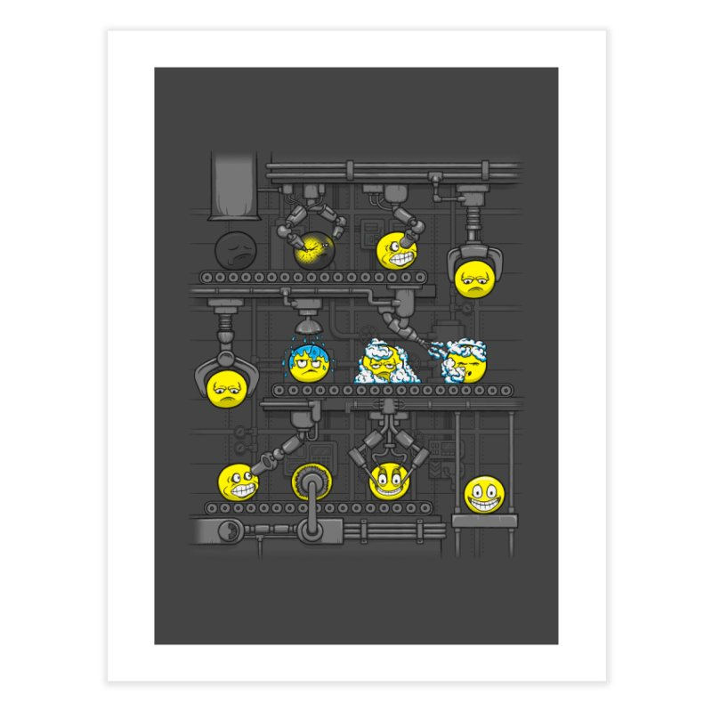 Smiley Factory Home Fine Art Print by booster's Artist Shop
