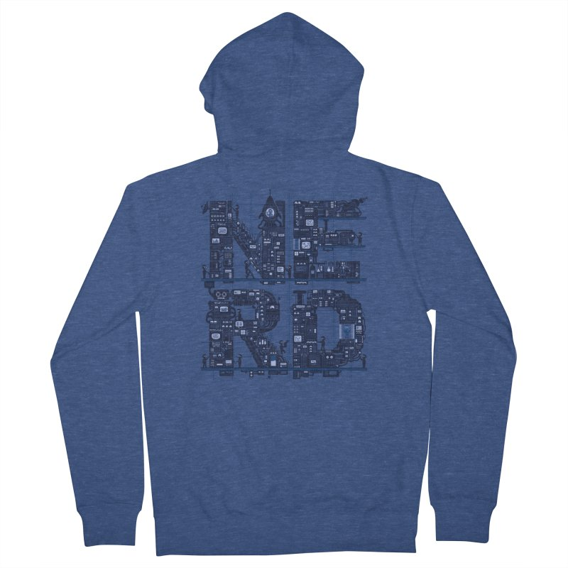Nerd HQ Women's Zip-Up Hoody by booster's Artist Shop