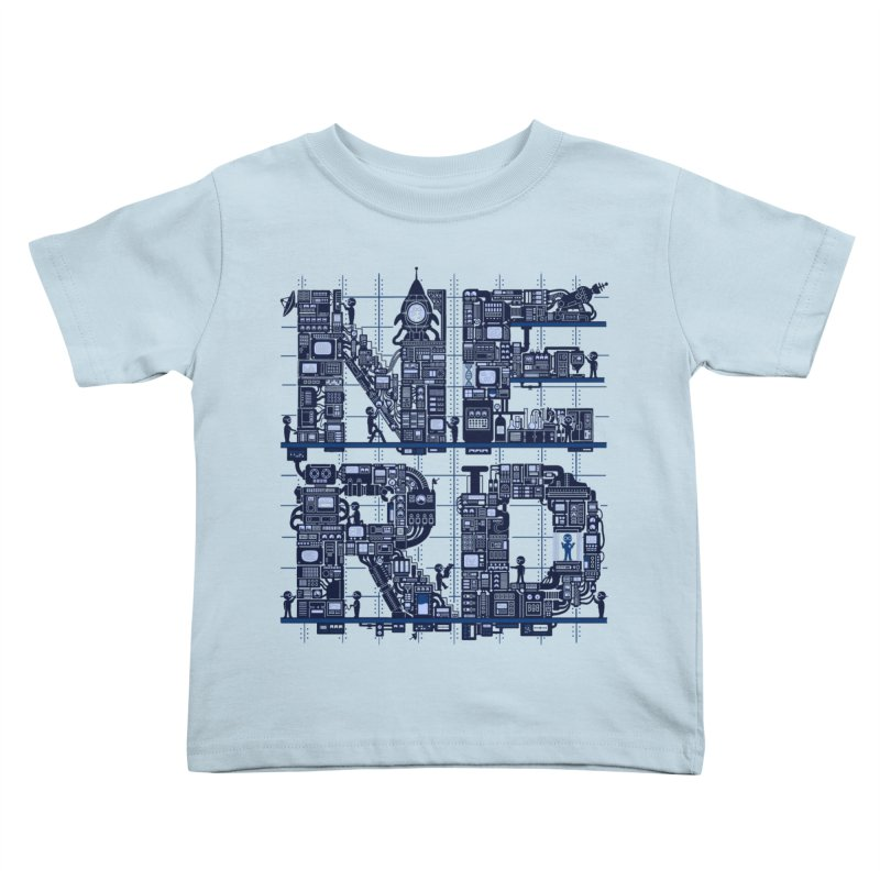 Nerd HQ Kids Toddler T-Shirt by booster's Artist Shop