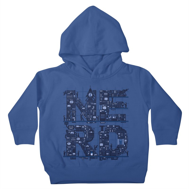 Nerd HQ Kids Toddler Pullover Hoody by booster's Artist Shop