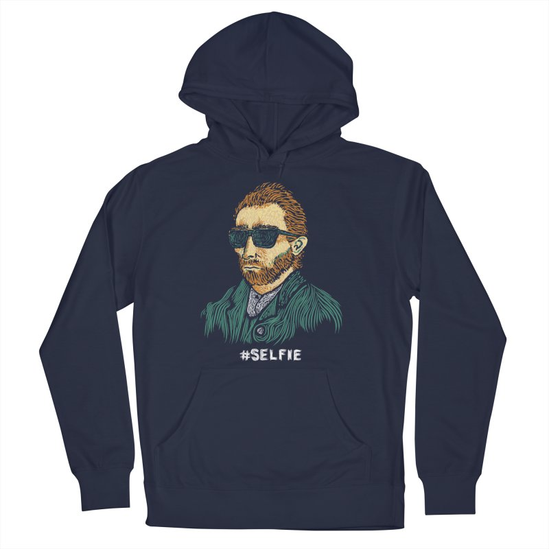 Van Gogh: Master of the Selfie Men's Pullover Hoody by Boots Tees