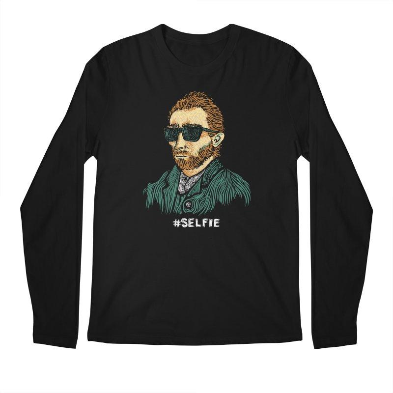 Van Gogh: Master of the Selfie Men's Longsleeve T-Shirt by Boots Tees