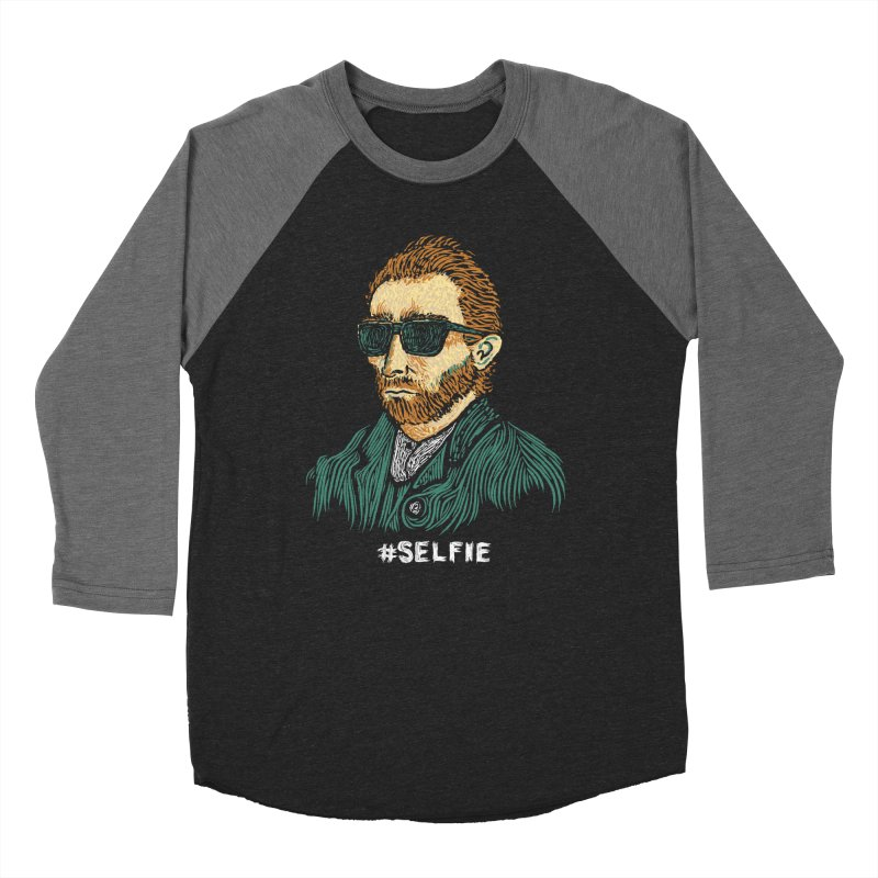 Van Gogh: Master of the Selfie Men's Baseball Triblend T-Shirt by Boots Tees