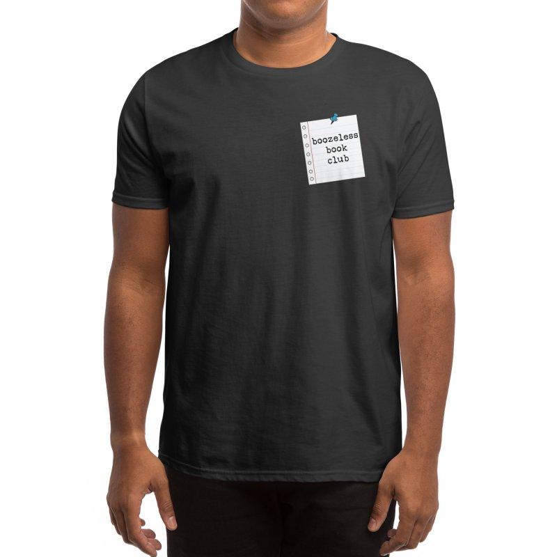 Boozeless Book Club Men's T-Shirt by Boozeless Book Club Merch