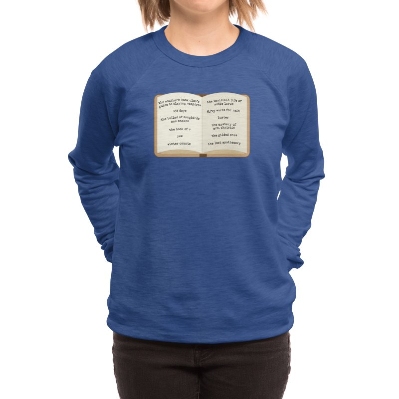 BBC Book List Women's Sweatshirt by Boozeless Book Club Merch