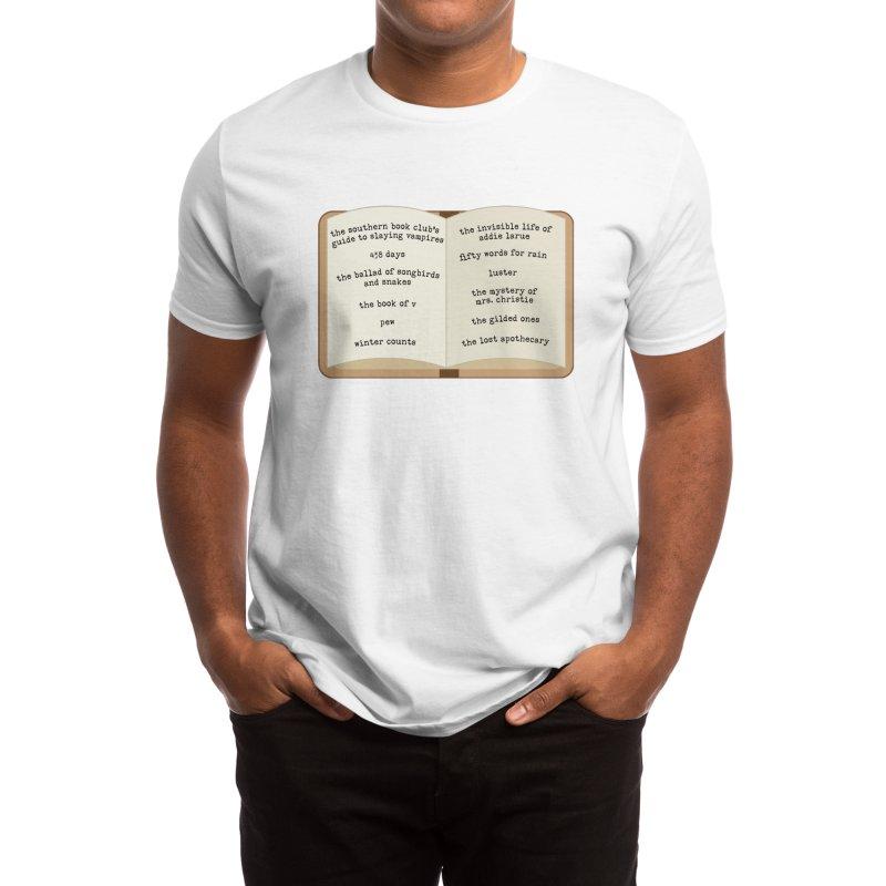 BBC Book List Men's T-Shirt by Boozeless Book Club Merch