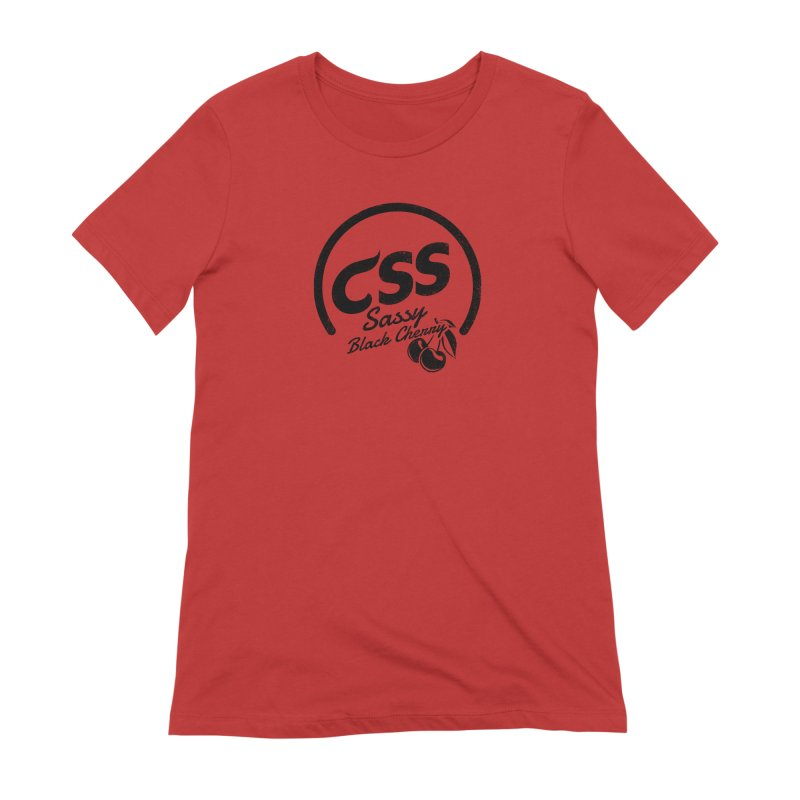 Sassy CSS Women's Extra Soft T-Shirt by Border_Top