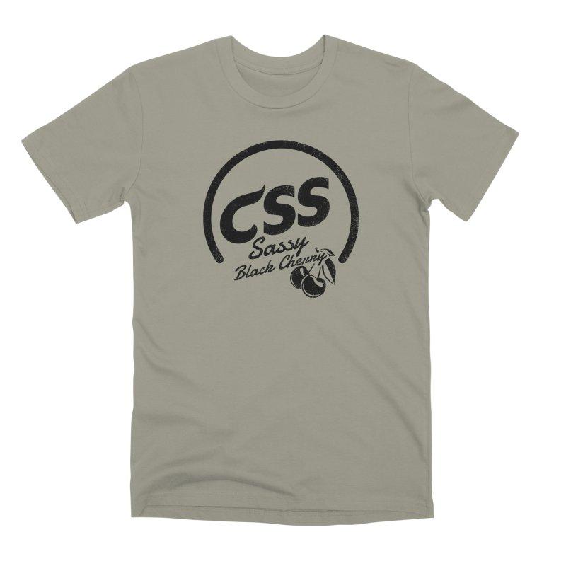 Sassy CSS Men's Premium T-Shirt by Border_Top