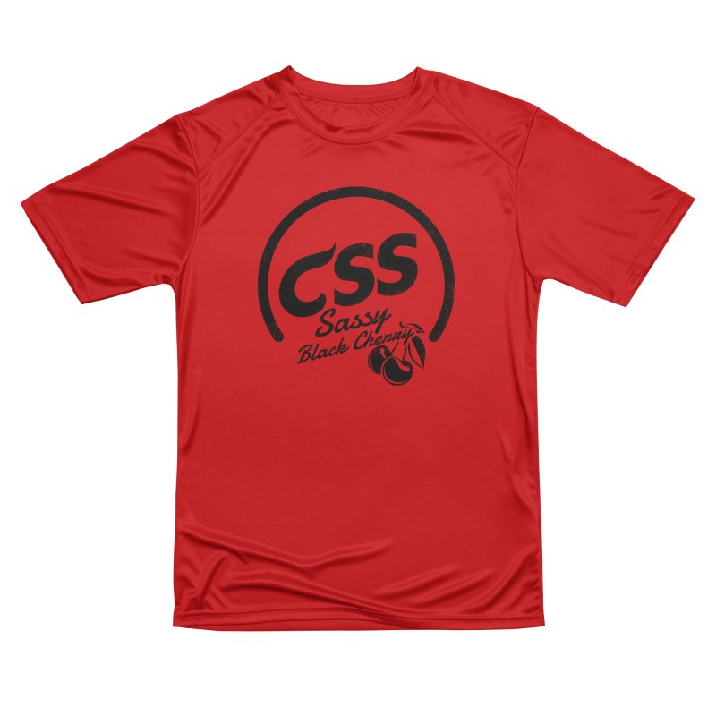 Sassy CSS Men's Performance T-Shirt by Border_Top