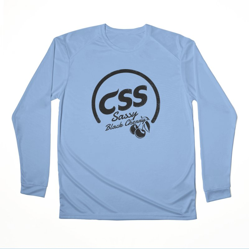 Sassy CSS Women's Performance Unisex Longsleeve T-Shirt by Border_Top