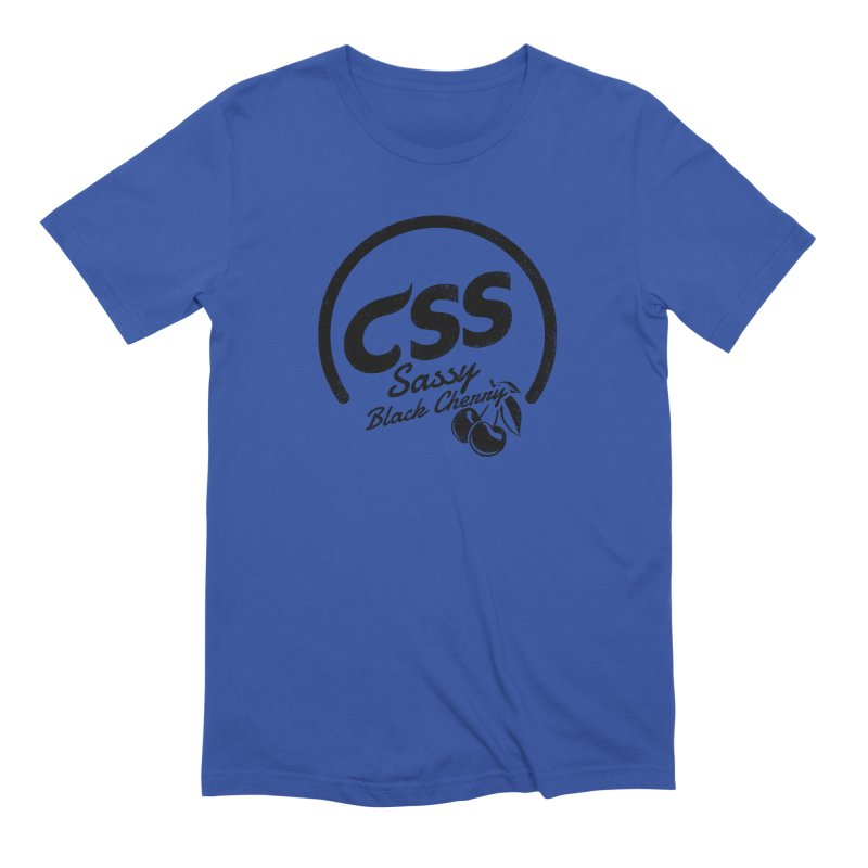 Sassy CSS Men's Extra Soft T-Shirt by Border_Top