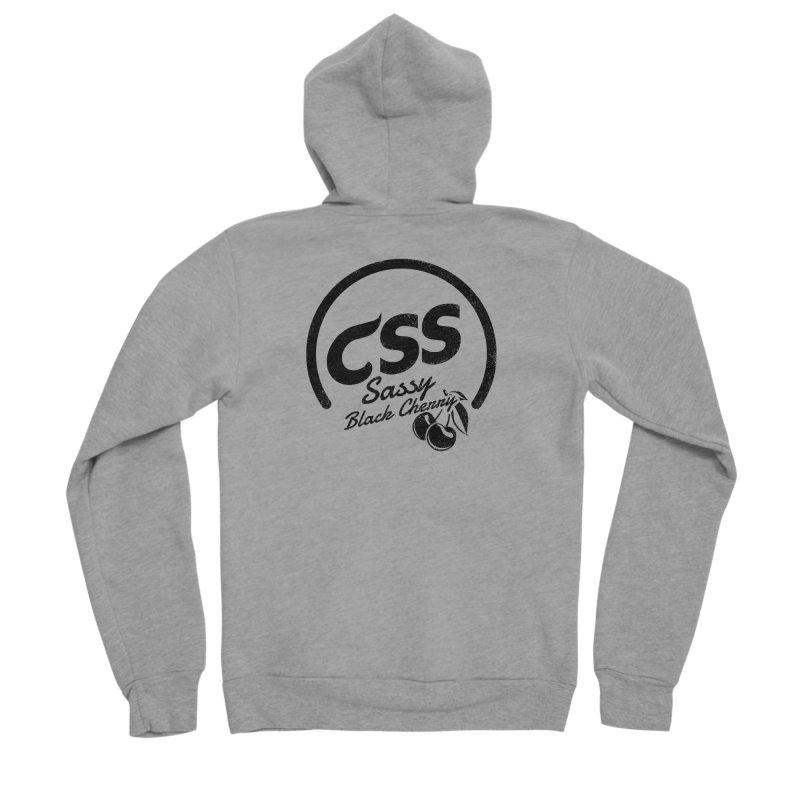 Sassy CSS Women's Sponge Fleece Zip-Up Hoody by Border_Top