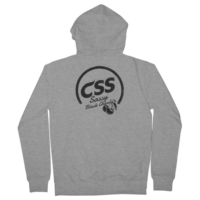 Sassy CSS Women's French Terry Zip-Up Hoody by Border_Top