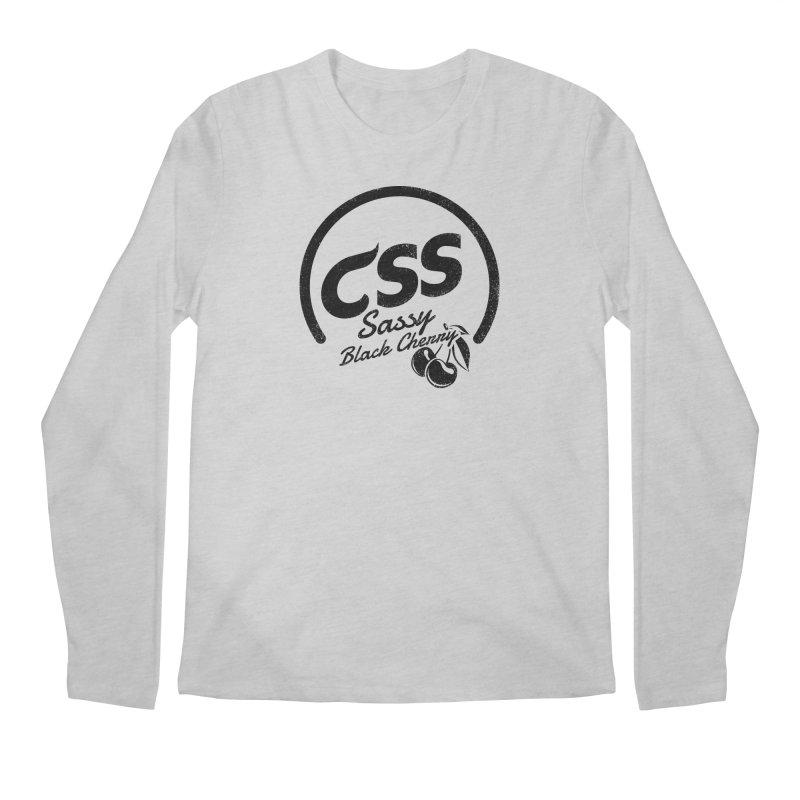 Sassy CSS Men's Regular Longsleeve T-Shirt by Border_Top