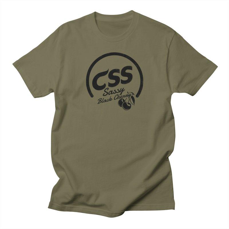 Sassy CSS Women's Regular Unisex T-Shirt by Border_Top