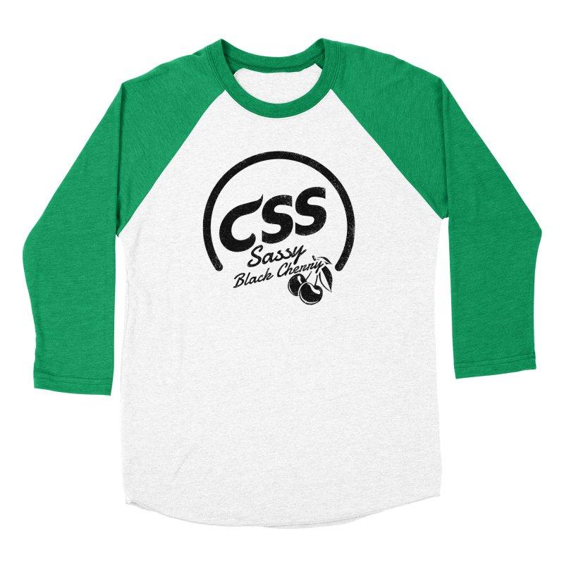 Sassy CSS Men's Baseball Triblend Longsleeve T-Shirt by Border_Top