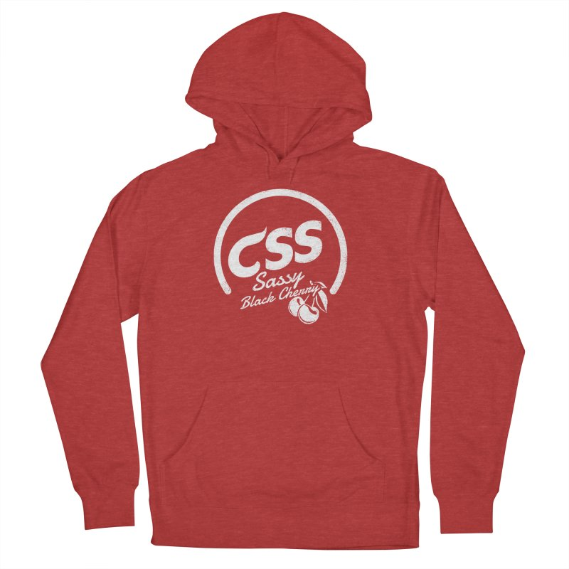 Sassy CSS (white) Women's French Terry Pullover Hoody by Border_Top