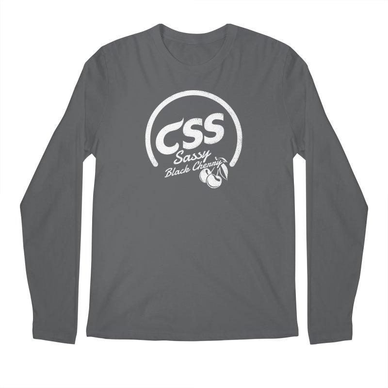 Sassy CSS (white) Men's Regular Longsleeve T-Shirt by Border_Top