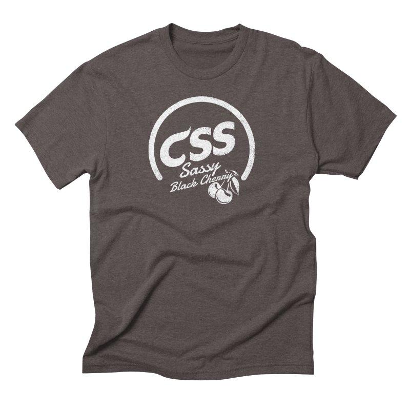 Sassy CSS (white) Men's Triblend T-Shirt by Border_Top