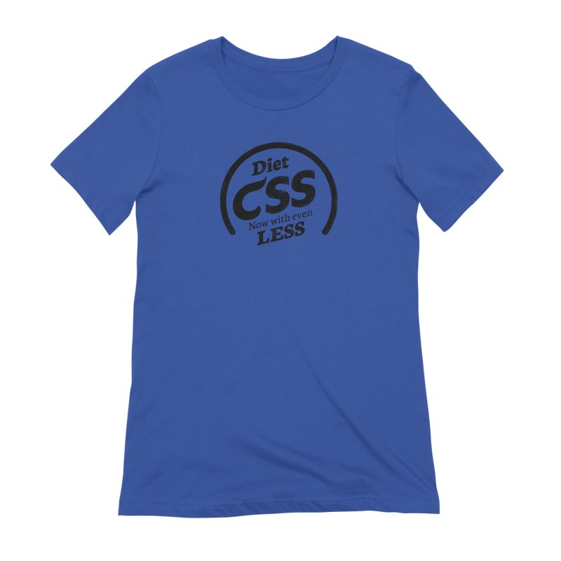 Diet CSS Women's Extra Soft T-Shirt by Border_Top