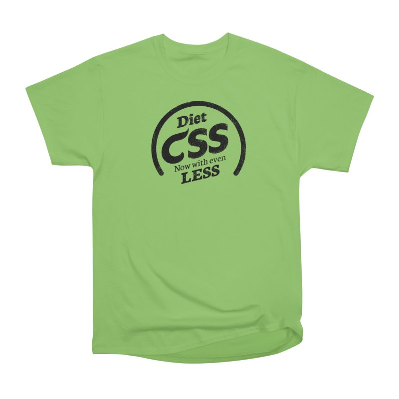 Diet CSS Women's Heavyweight Unisex T-Shirt by Border_Top