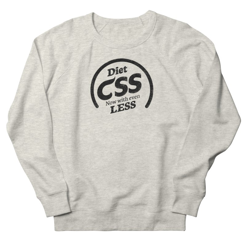 Diet CSS Men's French Terry Sweatshirt by Border_Top