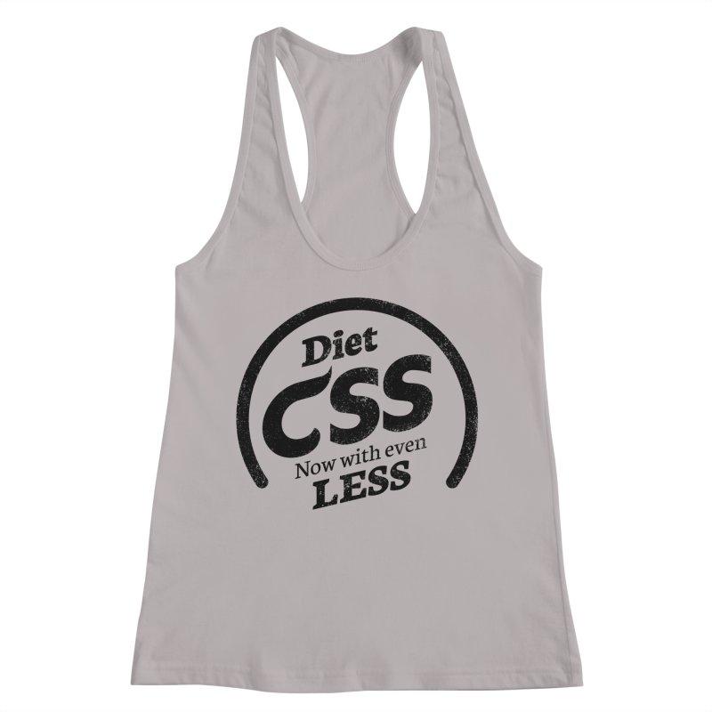 Diet CSS Women's Racerback Tank by Border_Top