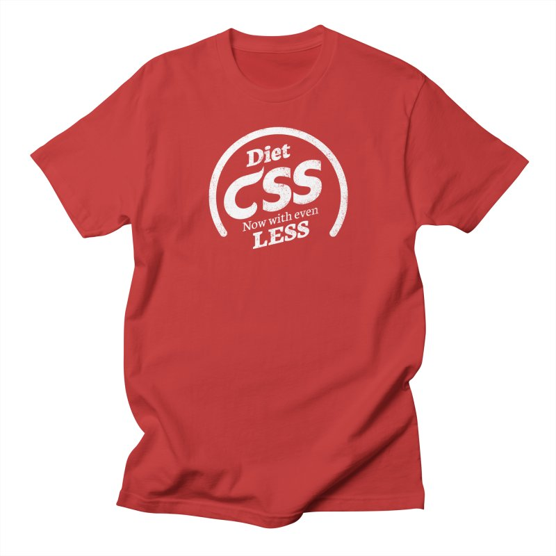 Diet CSS (white) Women's Regular Unisex T-Shirt by Border_Top