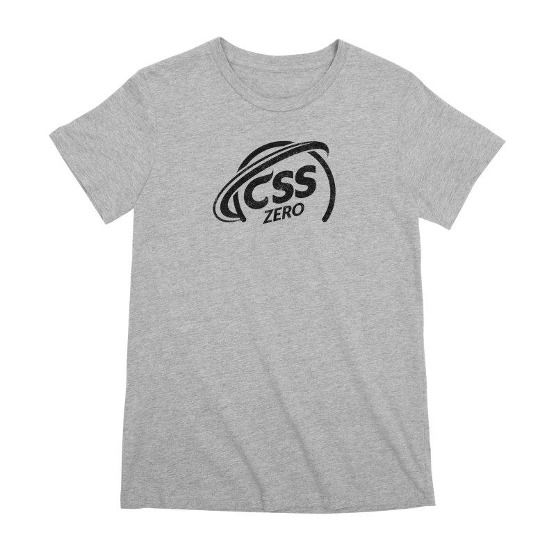 CSS Zero Women's Premium T-Shirt by Border_Top