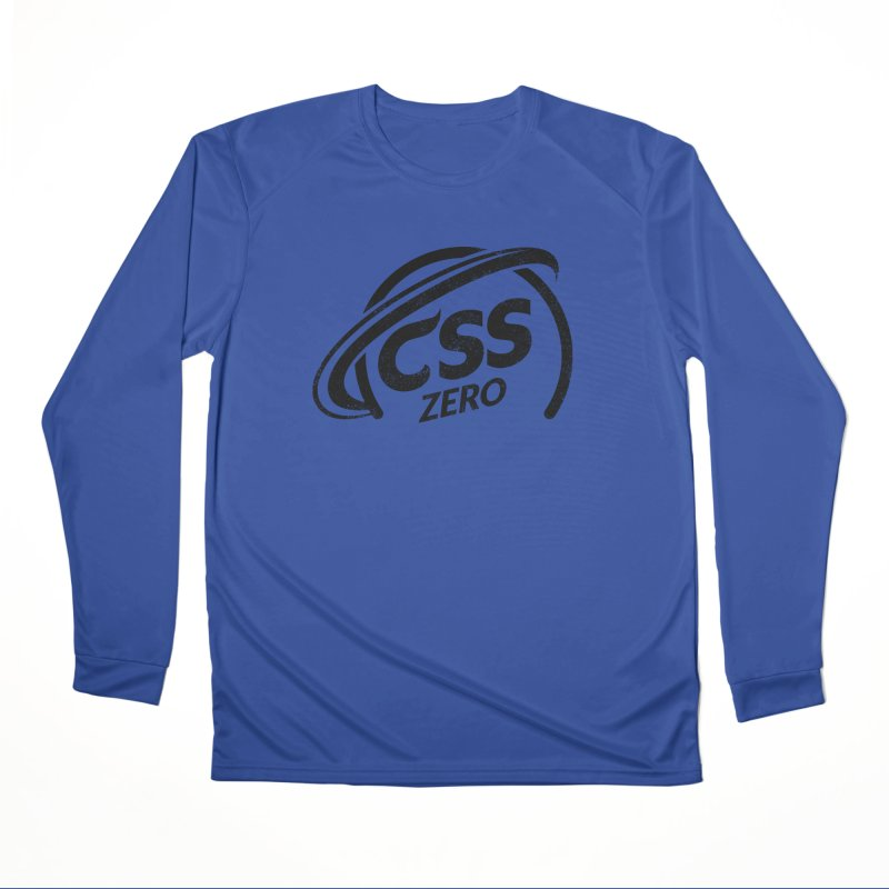 CSS Zero Men's Performance Longsleeve T-Shirt by Border_Top