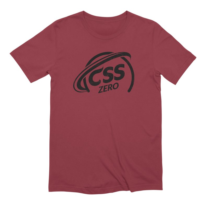CSS Zero Men's Extra Soft T-Shirt by Border_Top