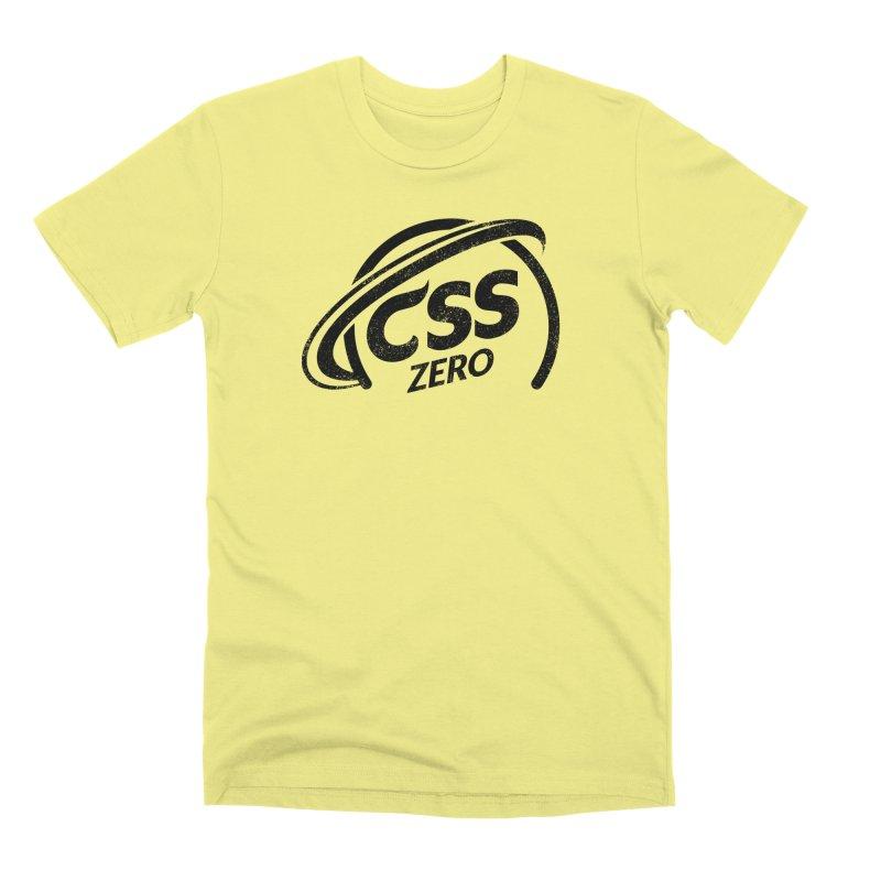 CSS Zero Men's Premium T-Shirt by Border_Top