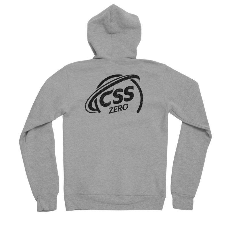 CSS Zero Men's Sponge Fleece Zip-Up Hoody by Border_Top