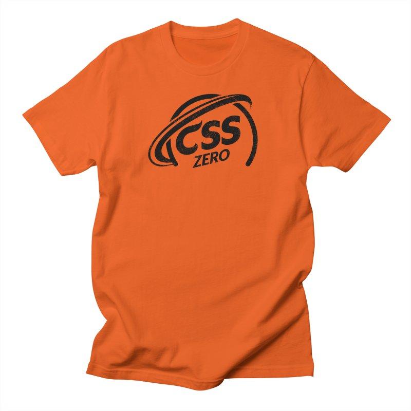 CSS Zero Women's Regular Unisex T-Shirt by Border_Top