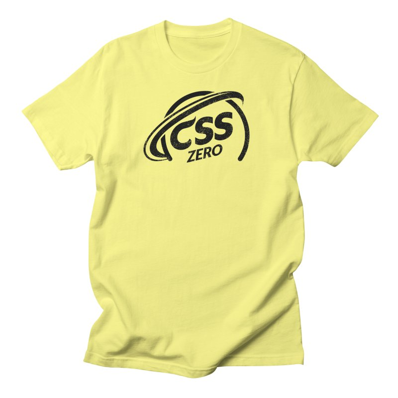 CSS Zero Men's Regular T-Shirt by Border_Top