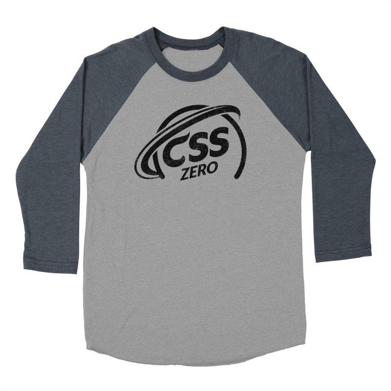 CSS Zero Men's Baseball Triblend Longsleeve T-Shirt by Border_Top