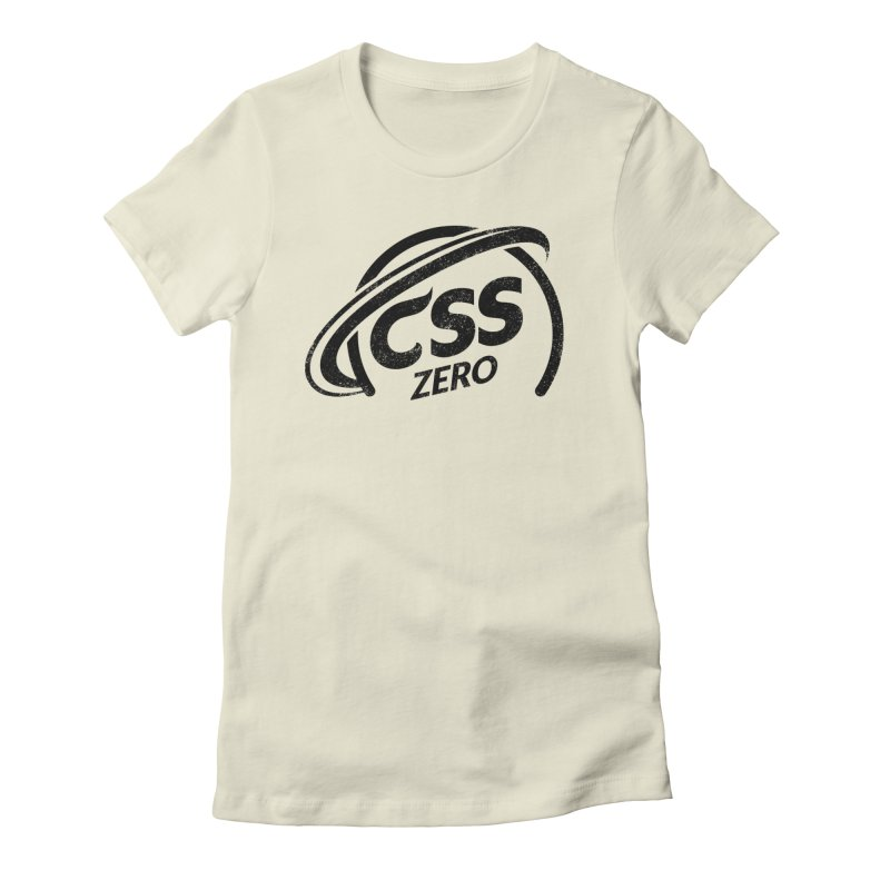 CSS Zero Women's Fitted T-Shirt by Border_Top