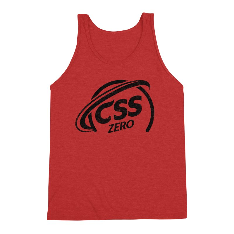 CSS Zero Men's Triblend Tank by Border_Top