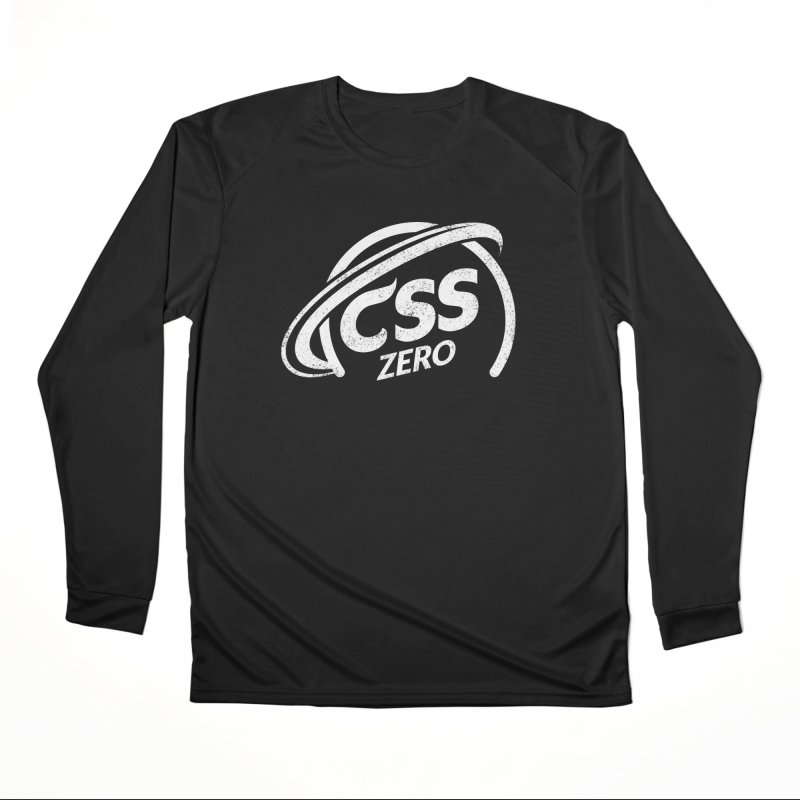 CSS Zero (white) Women's Performance Unisex Longsleeve T-Shirt by Border_Top
