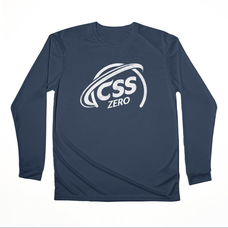 CSS Zero (white) Men's Performance Longsleeve T-Shirt by Border_Top