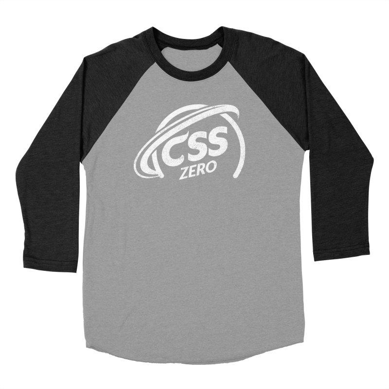 CSS Zero (white) Women's Baseball Triblend Longsleeve T-Shirt by Border_Top