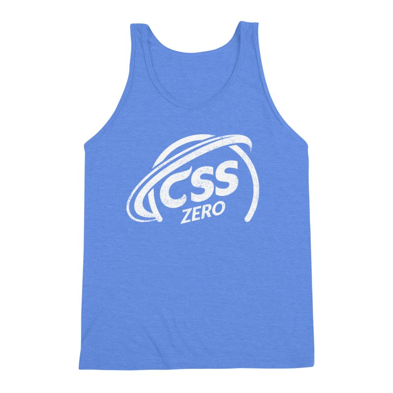CSS Zero (white) Men's Triblend Tank by Border_Top