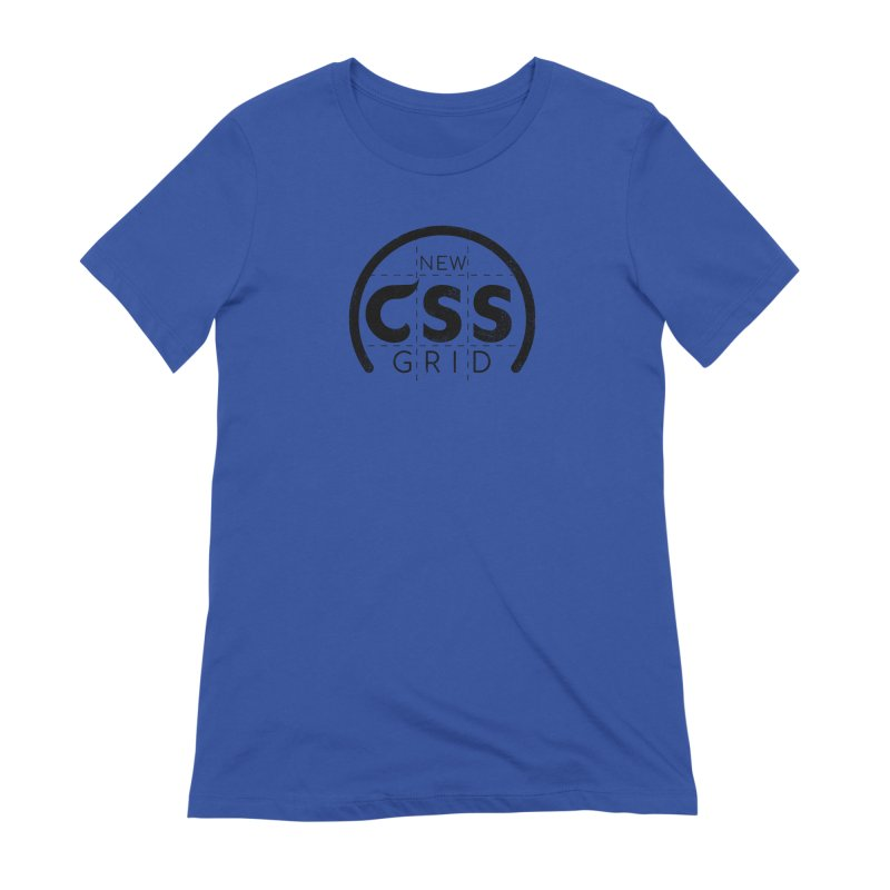CSS Grid Women's Extra Soft T-Shirt by Border_Top