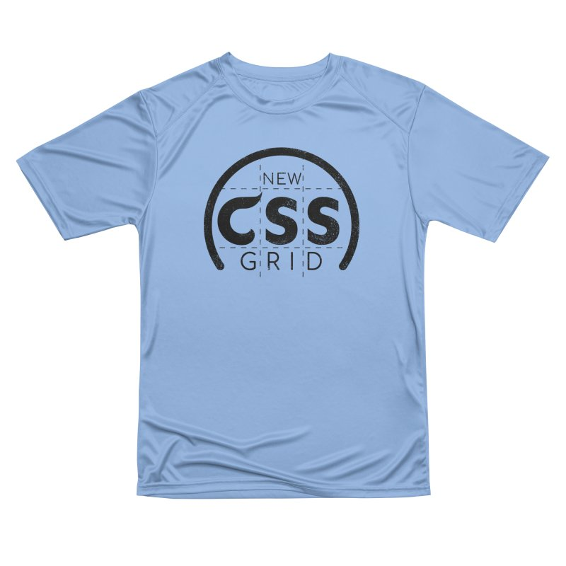 CSS Grid Women's Performance Unisex T-Shirt by Border_Top