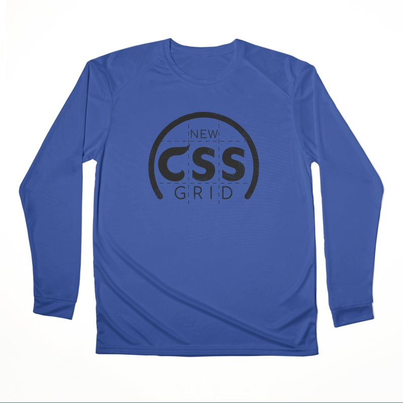CSS Grid Women's Performance Unisex Longsleeve T-Shirt by Border_Top