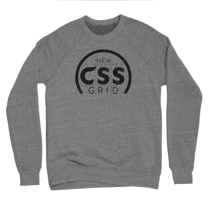 CSS Grid Men's Sponge Fleece Sweatshirt by Border_Top