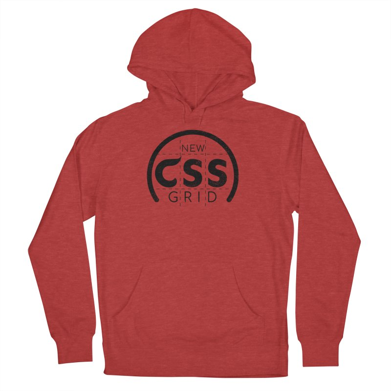 CSS Grid Women's French Terry Pullover Hoody by Border_Top