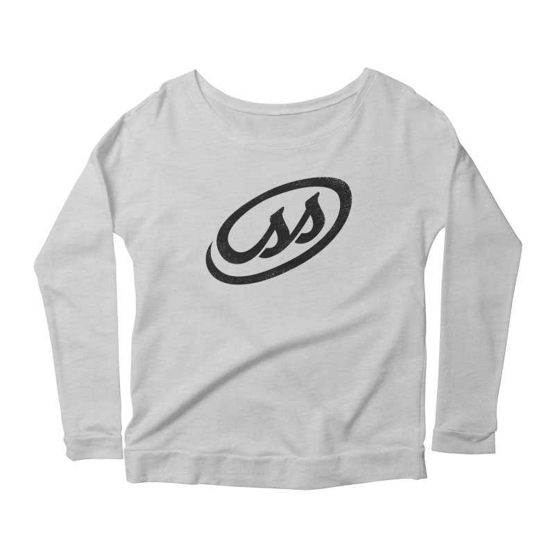 CSS Women's Scoop Neck Longsleeve T-Shirt by Border_Top