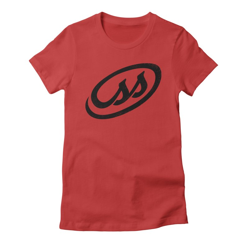 CSS Women's Fitted T-Shirt by Border_Top